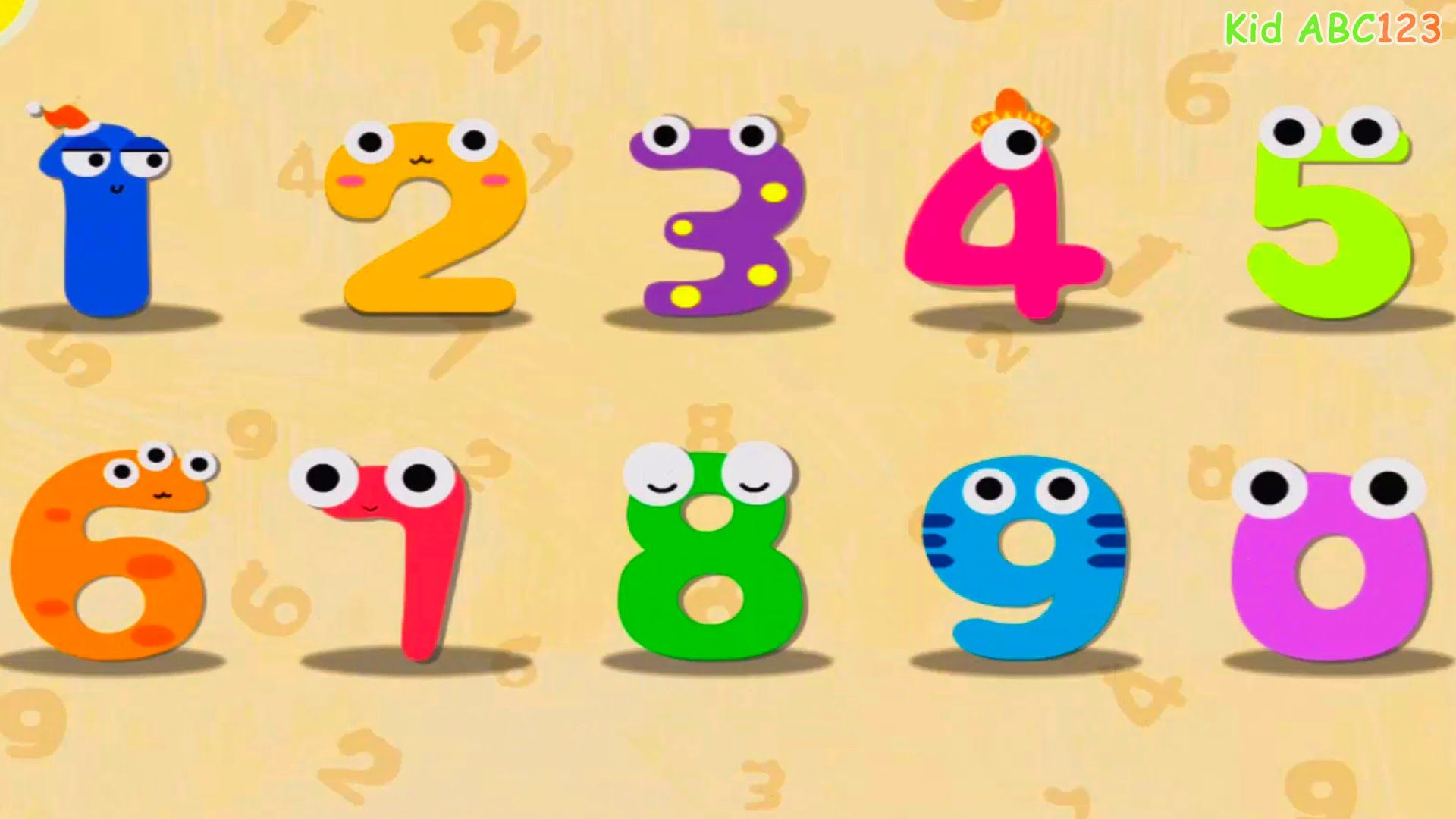 Magic Numbers 1 to 10 (BabyBus) 123 Learning Apps for
