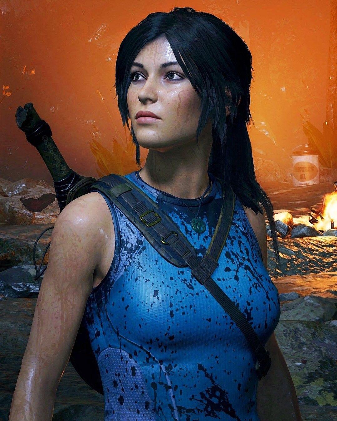 Lara Croft SOTTR in 2020   Charakter