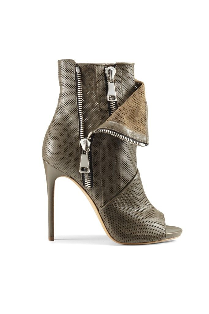 Casadei High Heeled Zipper Booties Resort 2015 Courtesy Photo  Shoes  Boots   AnkleBoots 48ed43fac99