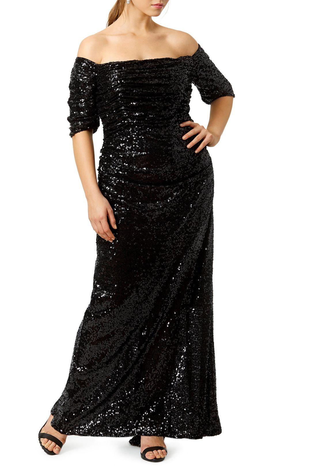 Midnight Stars Gown | Badgley mischka and Star