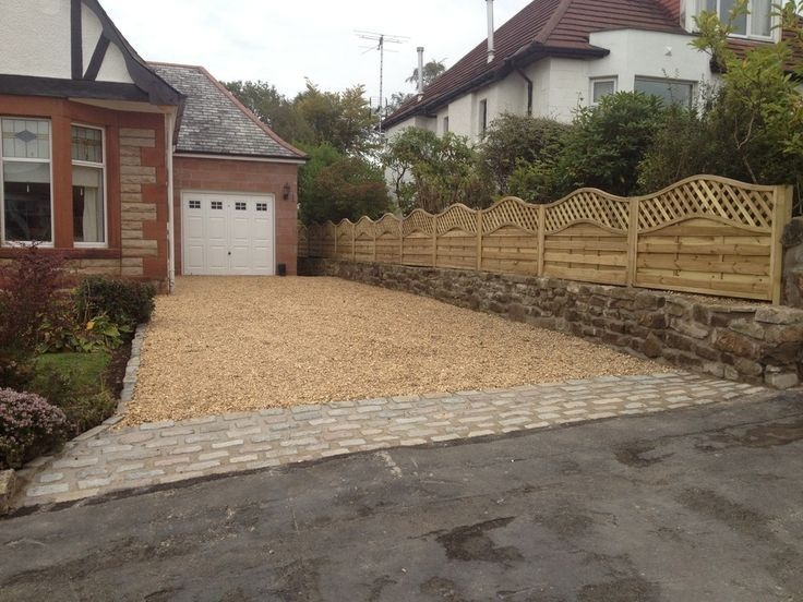 Image Result For Block Paving And Gravel Driveway