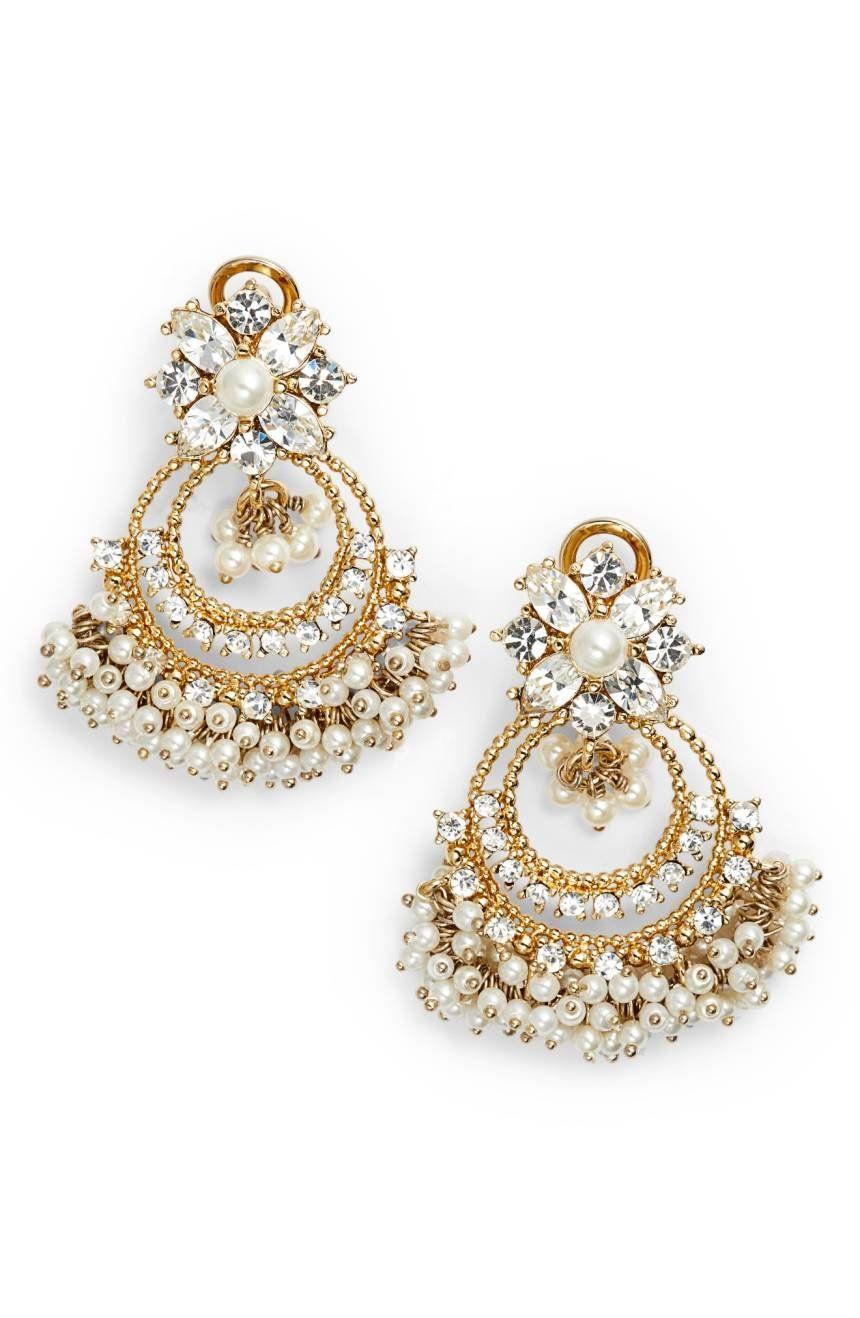 Crystal chandelier drop earrings elegant chandeliers chandelier crystal chandelier drop earrings arubaitofo Image collections