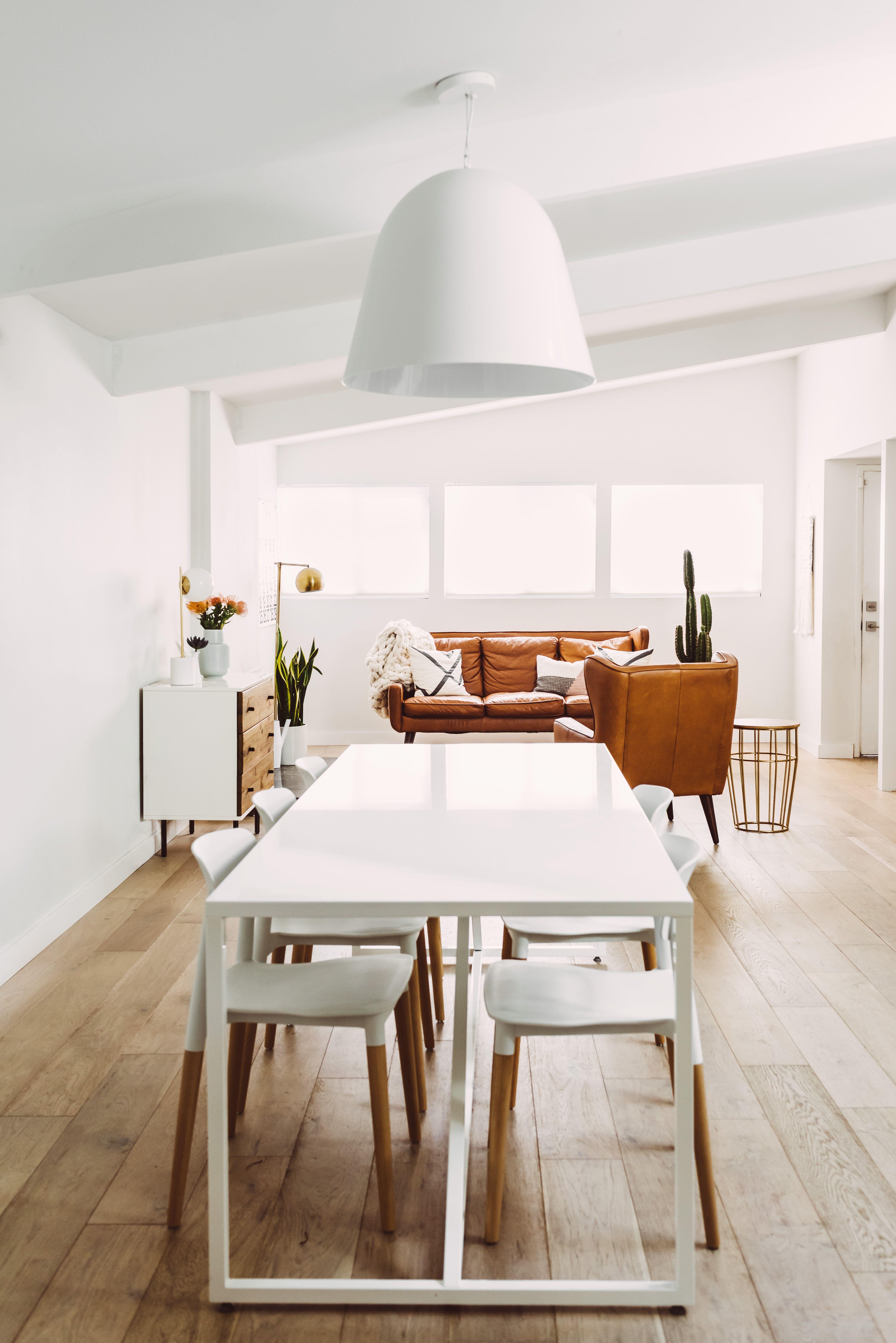 Scandinavian Inspired Mid Century Home Makeover In San Diego Modern House Design Mid Century Modern House Mid Century House
