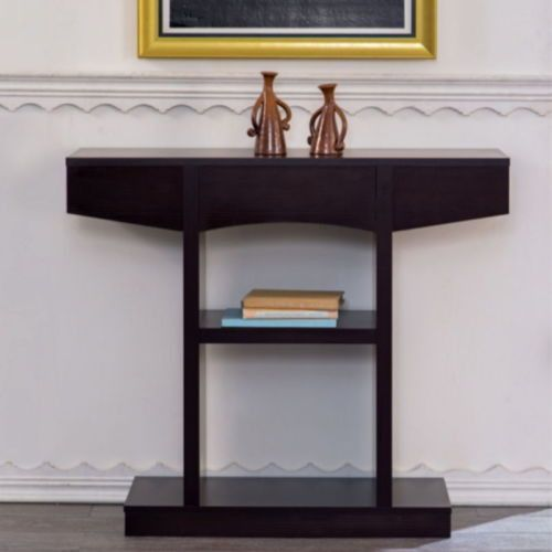 contemporary console table with drawer living room on exclusive modern nesting end tables design ideas very functional furnishings id=39982