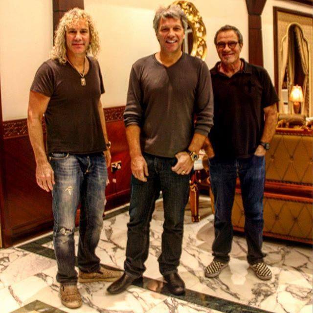 Bon Jovi in Taipei 2015 #jonbonjovi #jbj #captainkidd #davidbryan #lemma #ticotorres #bonjovi #taipei
