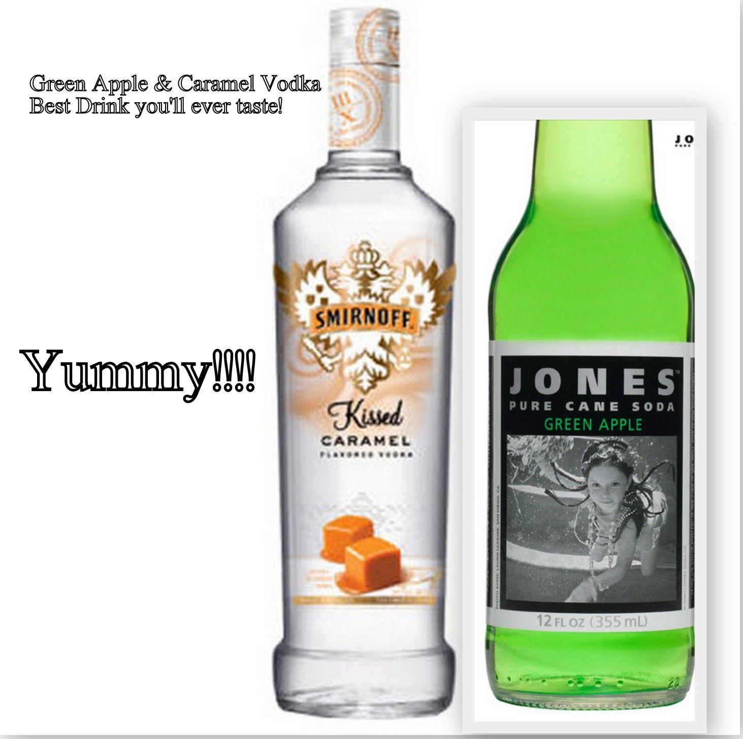 Green Apple Jones Drink And Caramel Vodka, Best Holiday