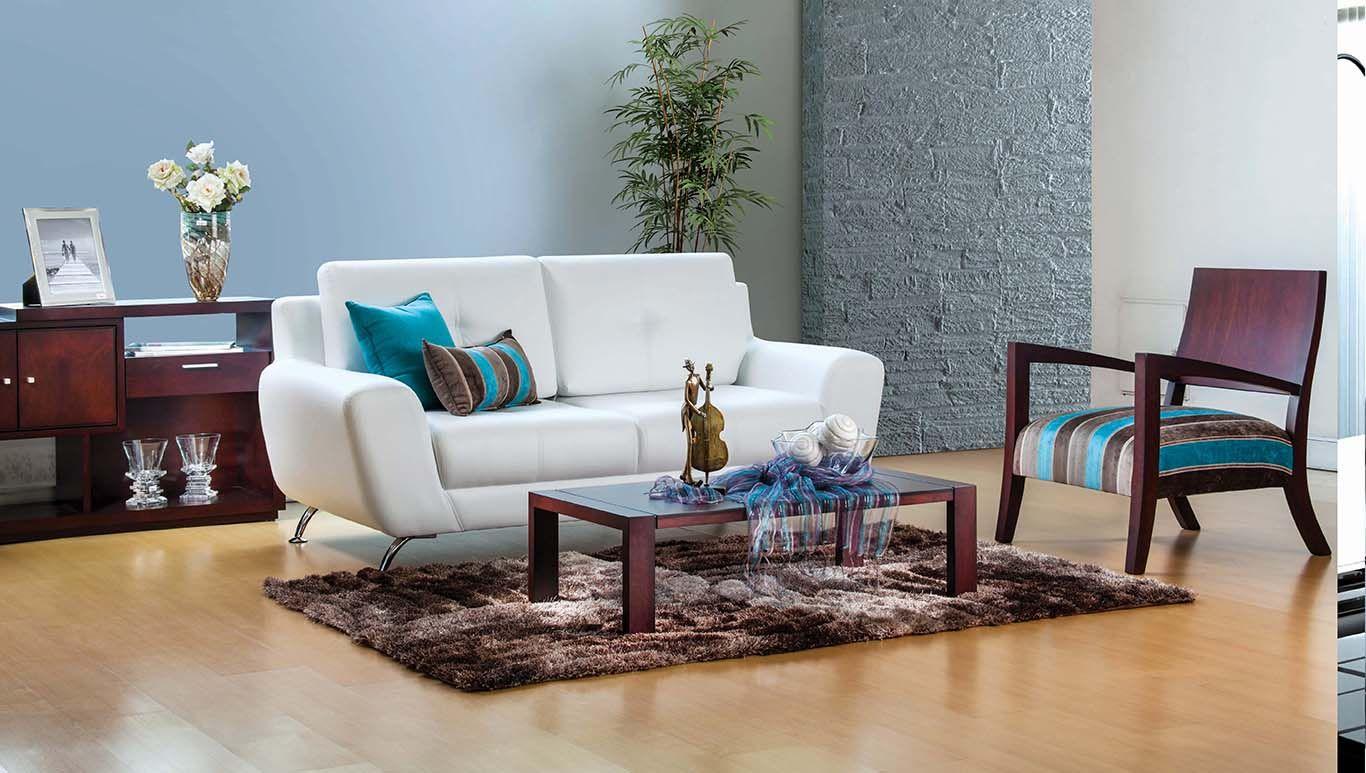 Oben Muebles Sof Avantti New Habitaciones Sala Living  # Muebles De Sala Fucsia