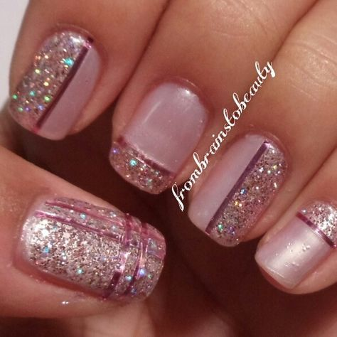 message  tape nail designs nail designs glitter simple