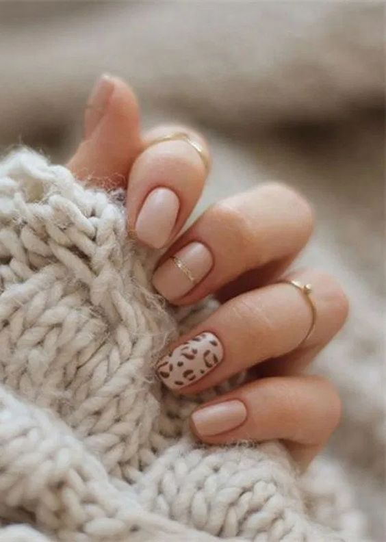 Trendy Animal Print Nails