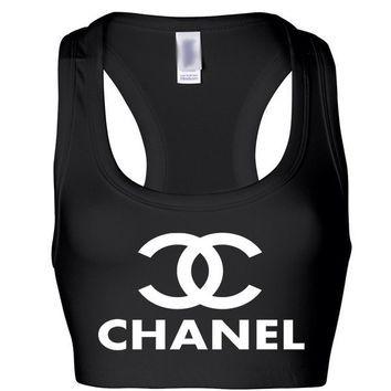 2926209b1155c Chanel Sports Bra