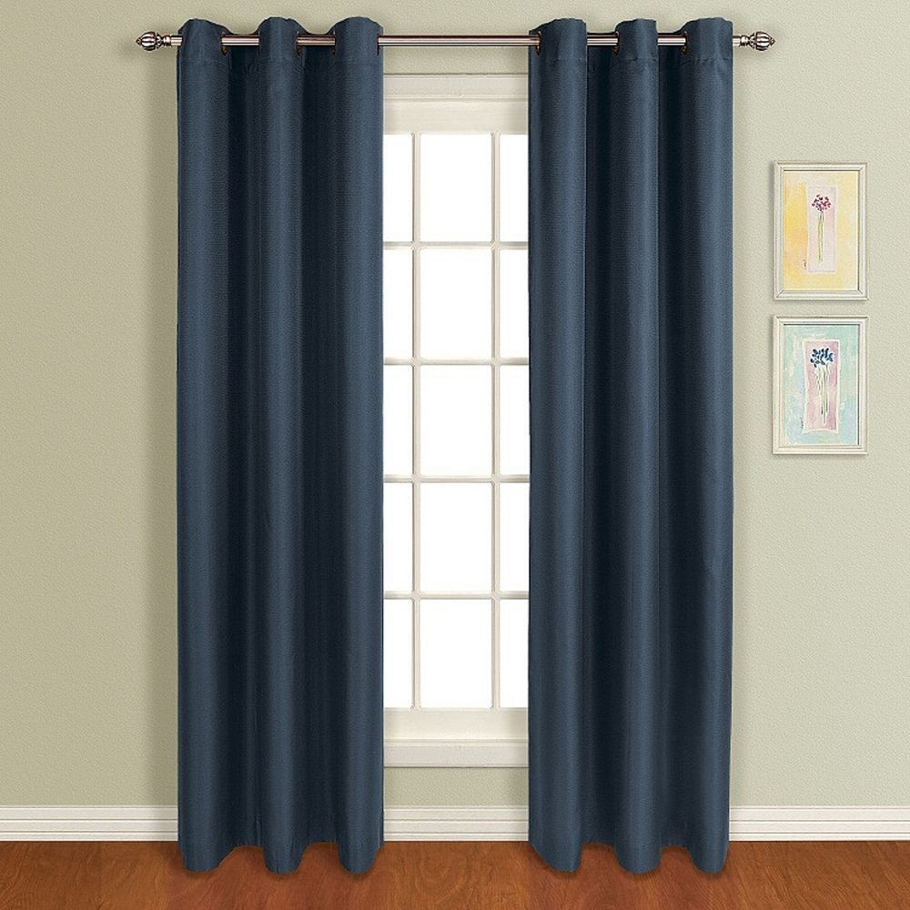 United Curtain Co 1 Panel Mansfield Window Curtain Cool