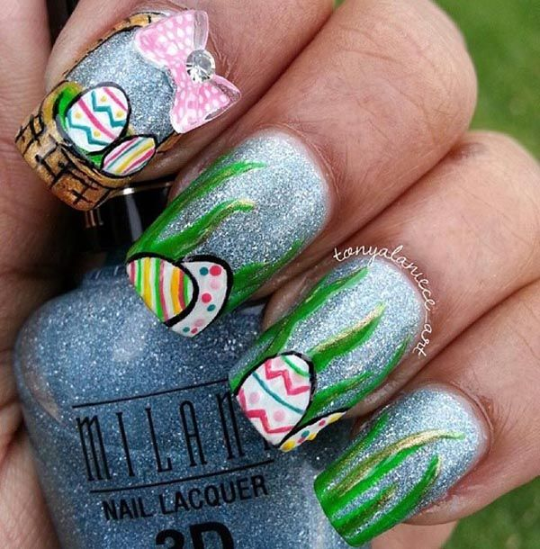 Add a fun and fanciful flair to your spring wardrobe with an Easter themed nail design. Let Peter Cottontail hop off the bunny trail and [...]