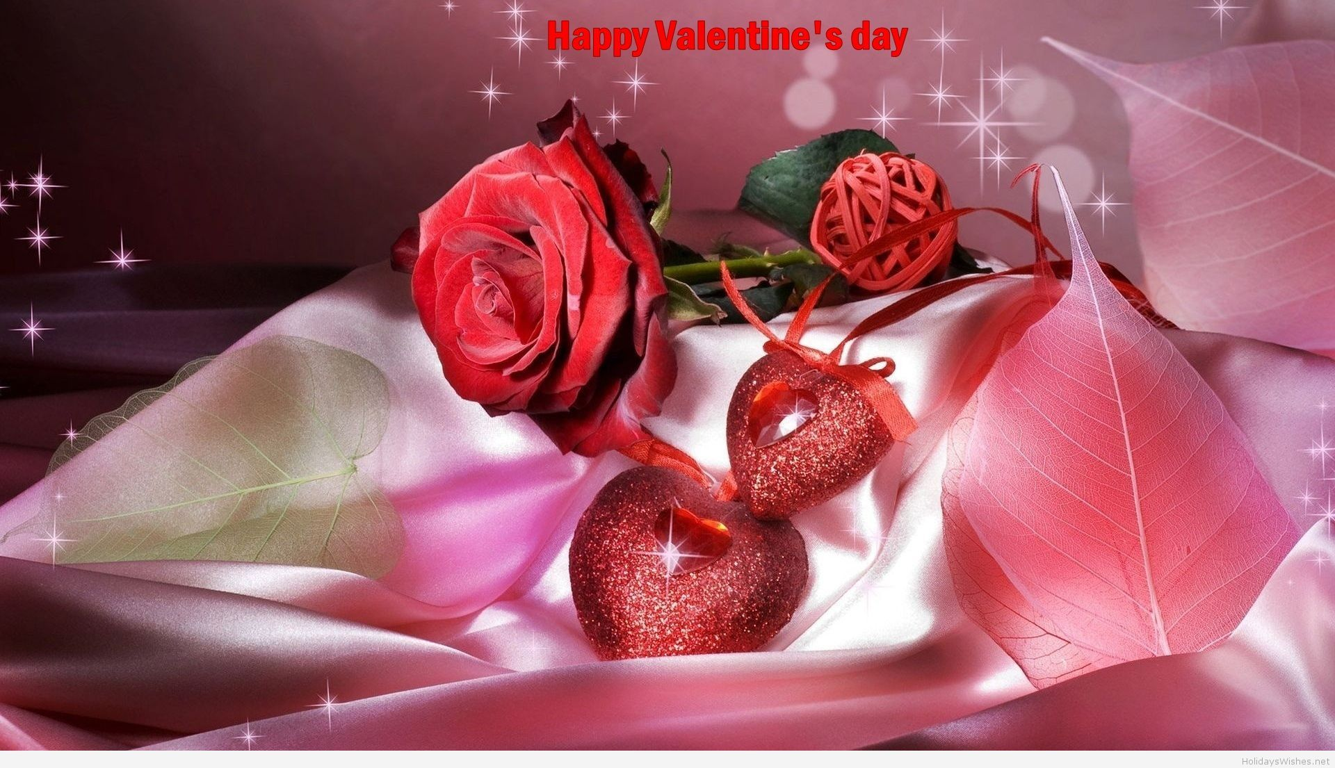 Animated Valentines Day Card 2015 Happy Rose Day Wallpaper