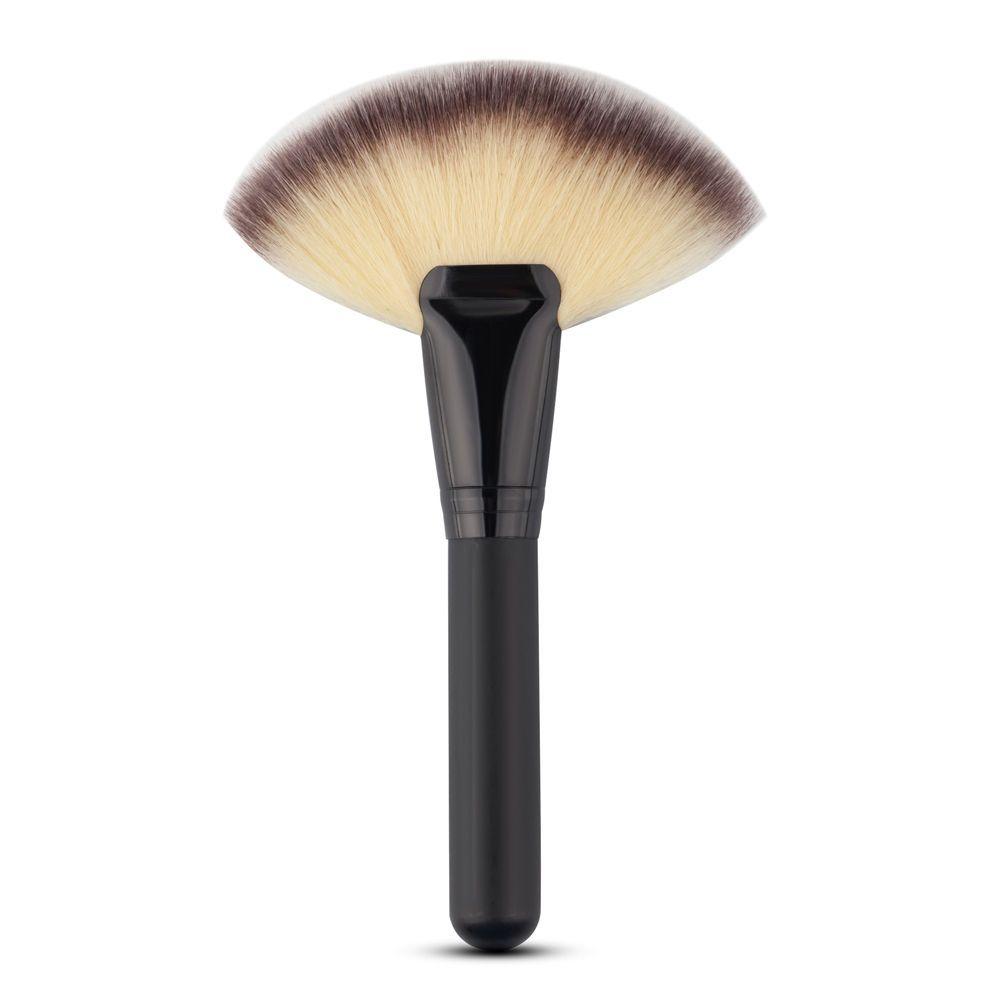 Professional Makeup Brush Large Fan Brush Blush Powder Foundation Make Up Tool It Cosmetics Brushes Fan Brush Makeup Makeup