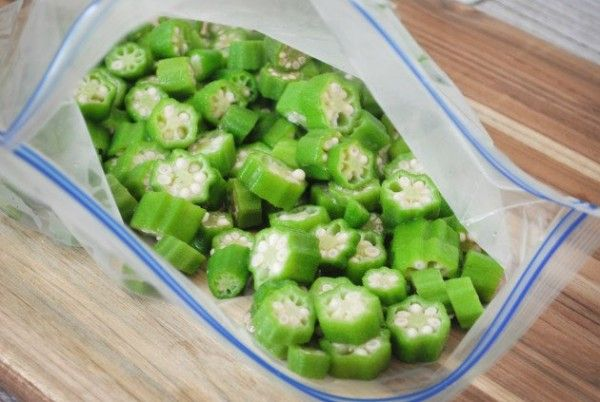 How To Freeze Okra Canning Vegetables