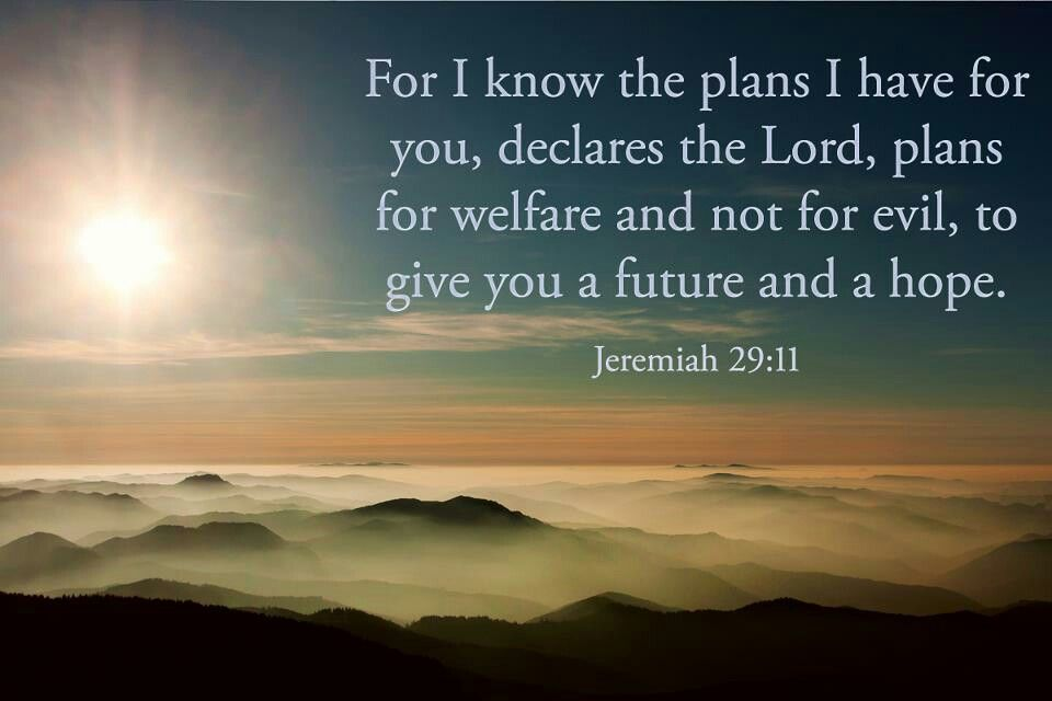 Jeremiah 29 11 old testament scripture pinterest - Jer 29 11 kjv ...