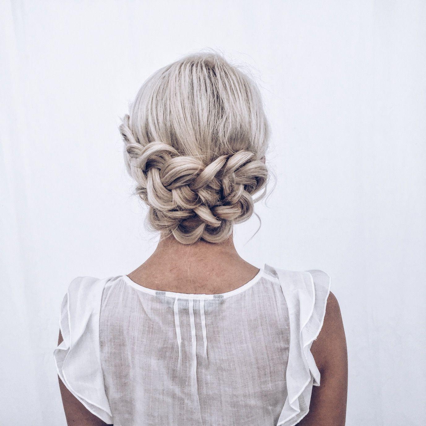 Hair style : coiffure , tresses , blonde, blond, hair, girl, braid ...