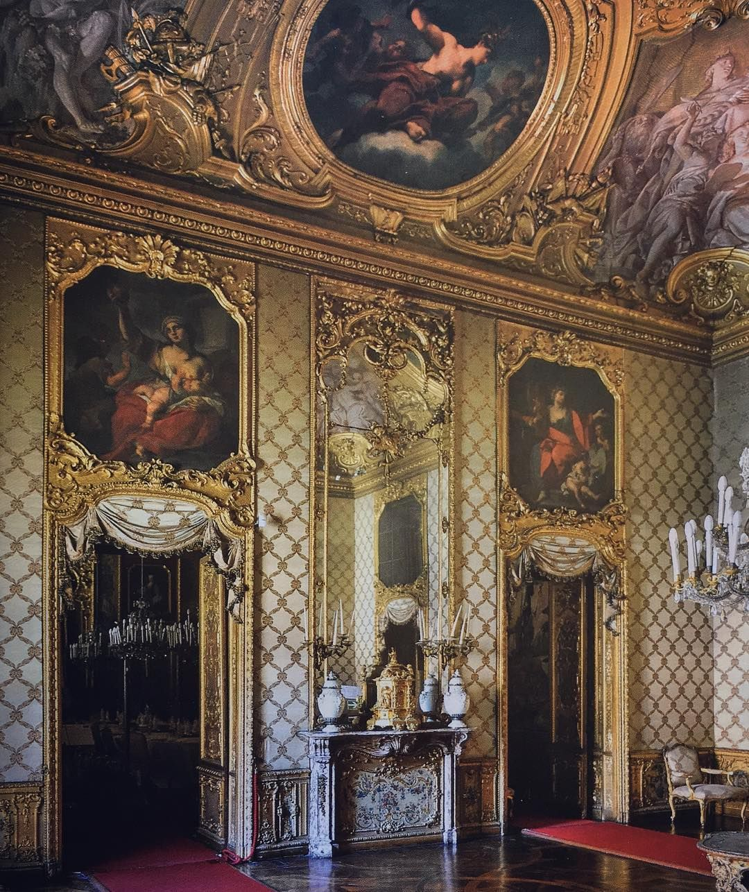 residenze sabaude palazzo reale torino royal palace дизайн
