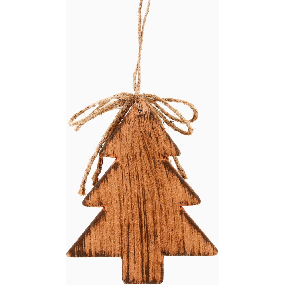 Christmas Rustic Wooden Tree Decoration Brown Big W Wooden Tree Tree Decorations Christmas Cover