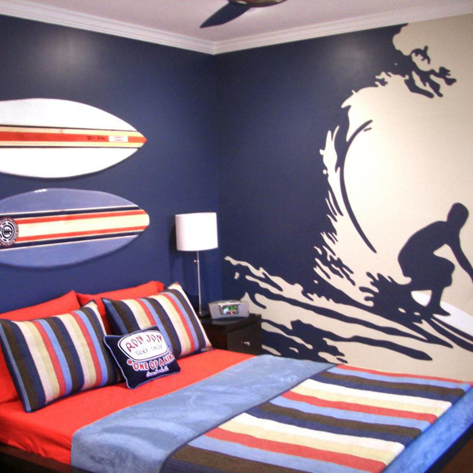 Navy Blue Kids Rooms: Nautically Themed Kid's Rooms Are Easy With Marianas Navy