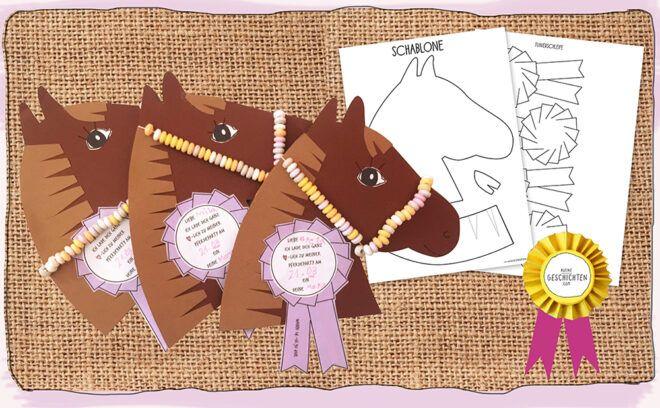 einladung pferde geburtstag - mit kostenloser vorlage in