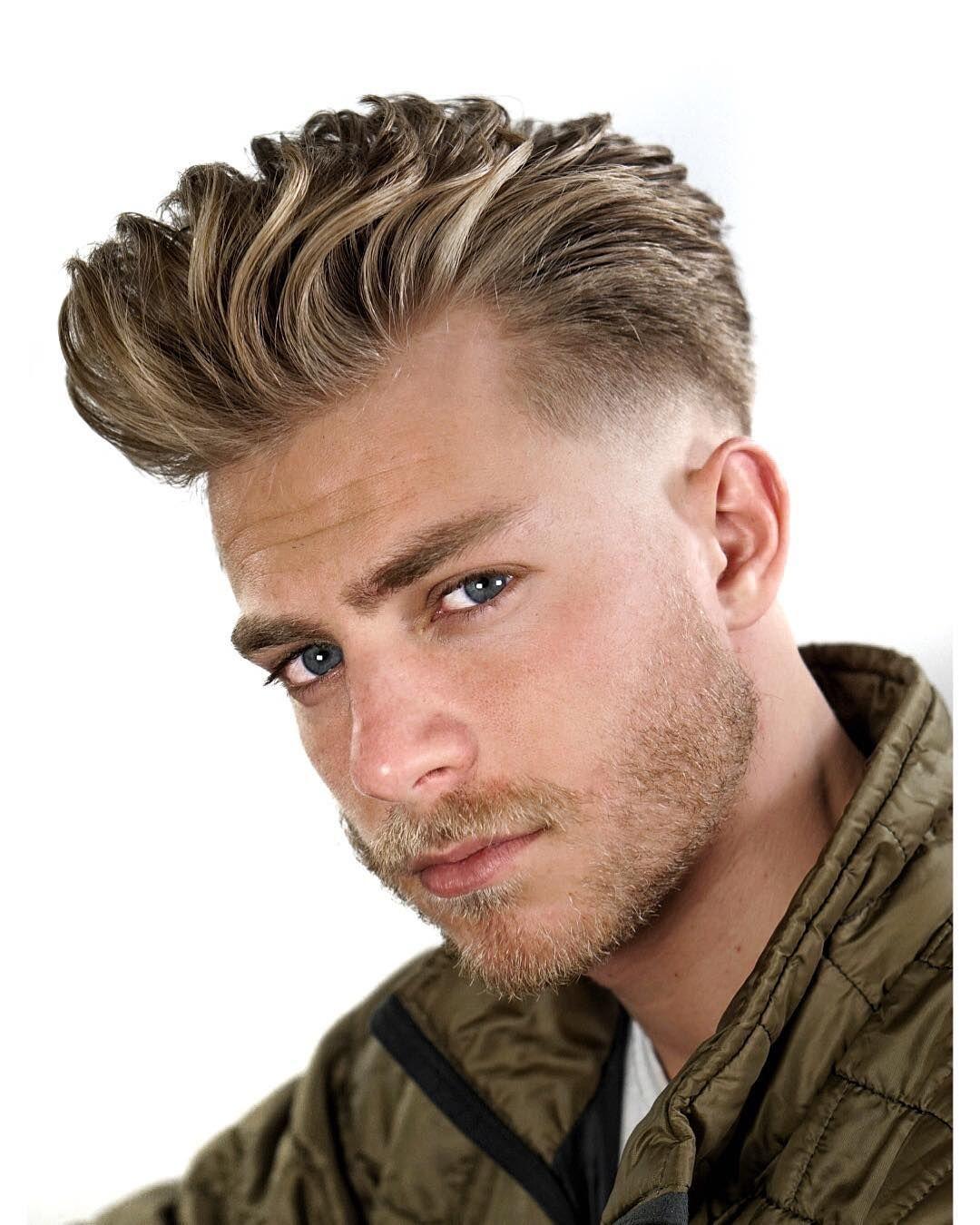 Best 14 Men S Summer Hairstyles For 2019 Quiff Hairstyles Mens Hairstyles Haircuts For Men
