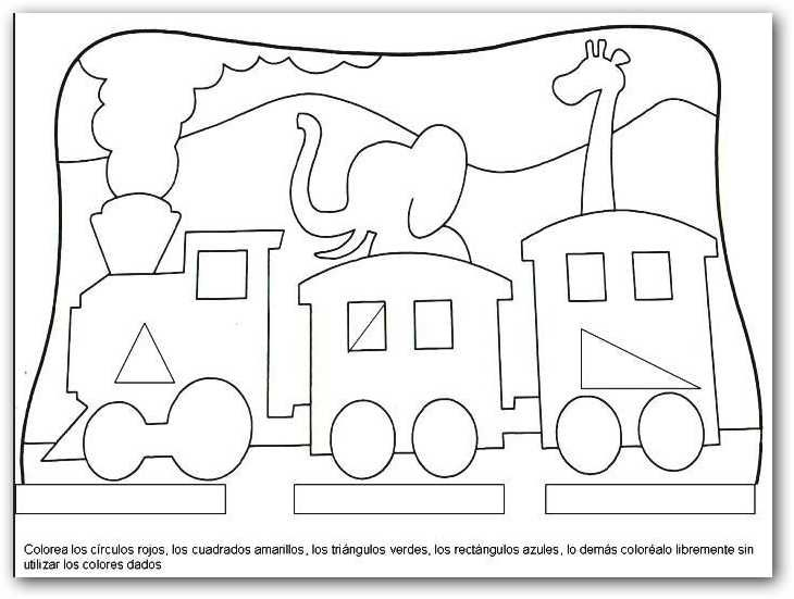 Figuras Geometricas, Preescolar Y
