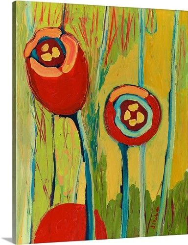 Jennifer Lommers Premium Thick-Wrap Canvas Wall Art Print entitled ...