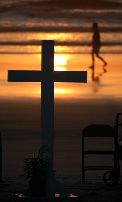 Ormond Beach Union Church Easter Sunrise Service On The
