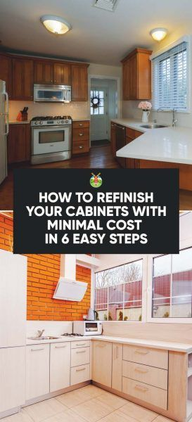 Best How To Refinish Your Cabinets With Minimal Cost In 6 Easy 640 x 480