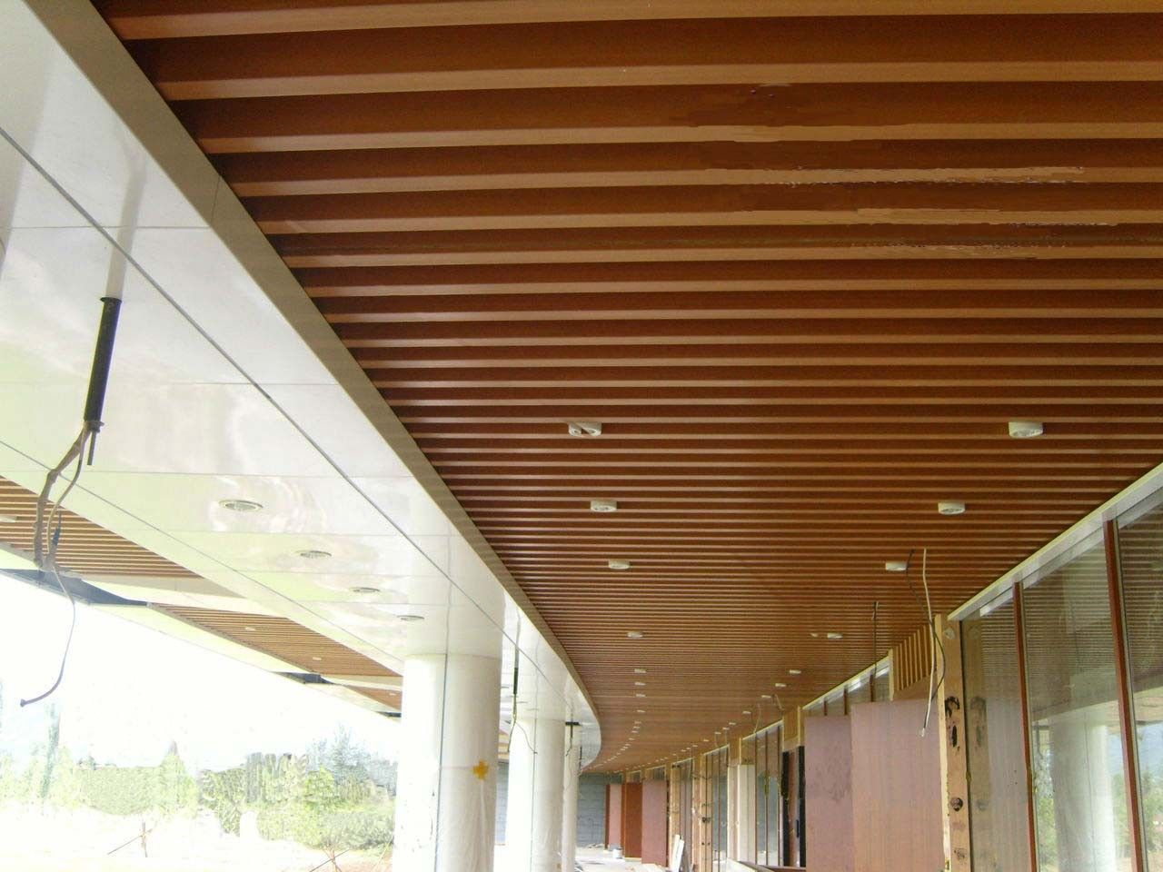 Modern Wood Ceiling Google Search Wood Ceiling Panels Ceiling Panels Wood Ceilings