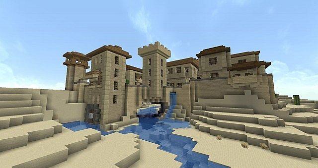 Greek Architecture Minecraft fortified desert village minecraft project | minecraft | pinterest