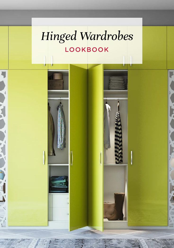 Get Inspired By These Stunning Hinged Wardrobe Designs Wardrobedesign  Interiordesign Magazine Indian Home Decor Tips Inspiration