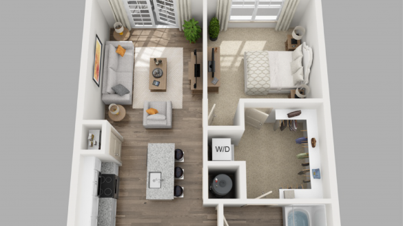 1 Bedroom Apartments Floor Plans Home Interior Theimpossibledrummer 1 Bedroom Small Apartment Floor Plans Studio Apartment Floor Plans Small Apartment Layout