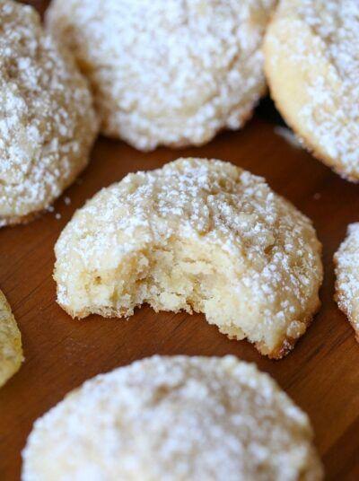 Potato Chip Shortbread | Easy Shortbread Cookies Recipe