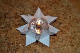 ***Image result for origami stern teelicht