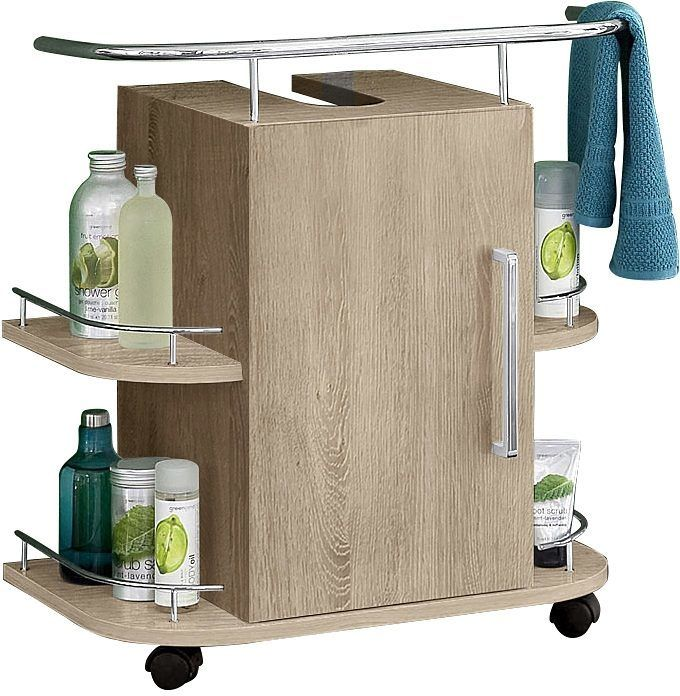 OPTIFIT Waschtischunterschrank beige, »Samoa«, Soft-Close-Funktion ...