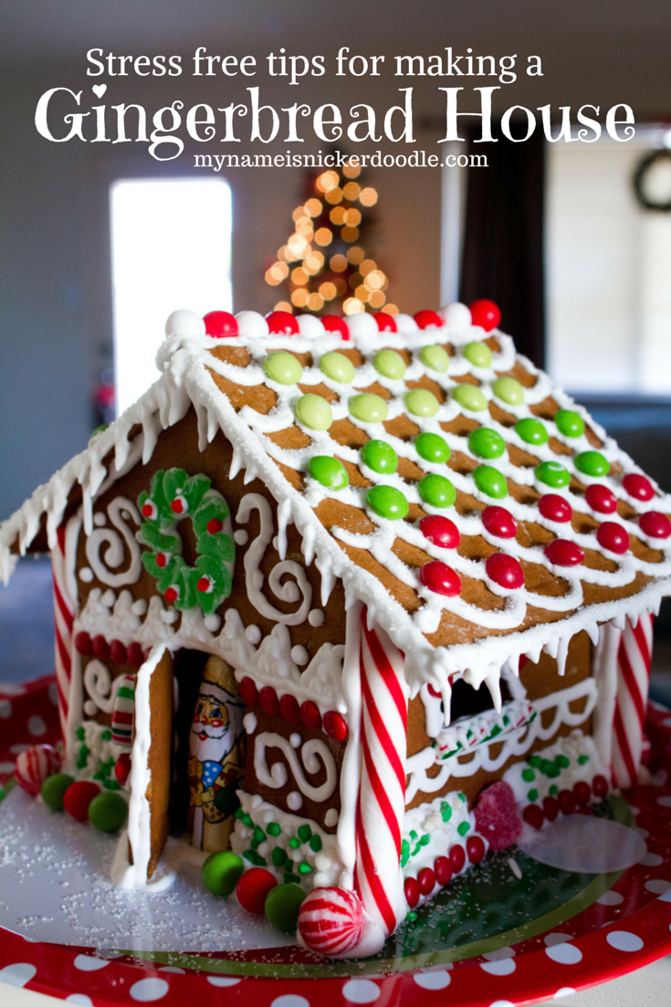 Gingerbread House Ideas Recipe By My Name Is Snickerdoodle Christmas Gingerbread House Gingerbread House Designs Gingerbread House Decorations