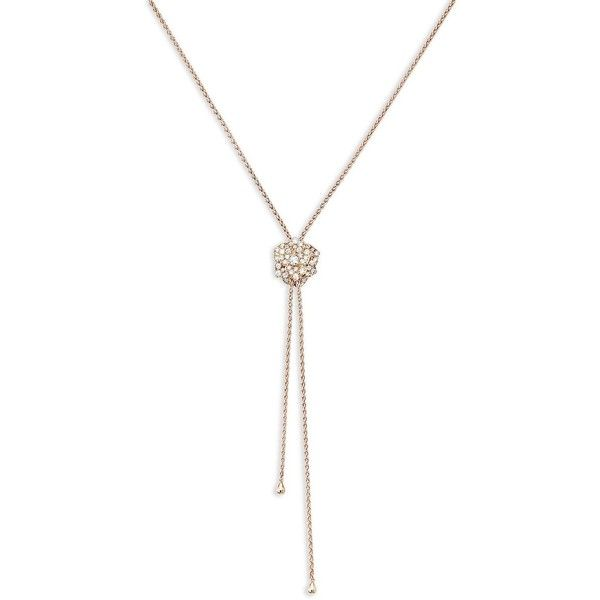 Piaget Possession 18K White Gold Lariat Necklace with Diamonds upsoI7fHuU