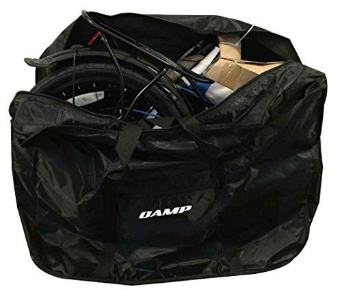 Camp 20 Inch Folding Bike Bag Black Find Out More About The Great Product At The Image Link Folding Bike Bag Folding Bike Foldable Bikes