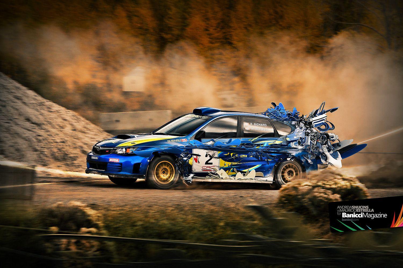 Rally Blue Car Dirt Scifi Blue Brown Subaru Impreza Car Wallpapers Subaru
