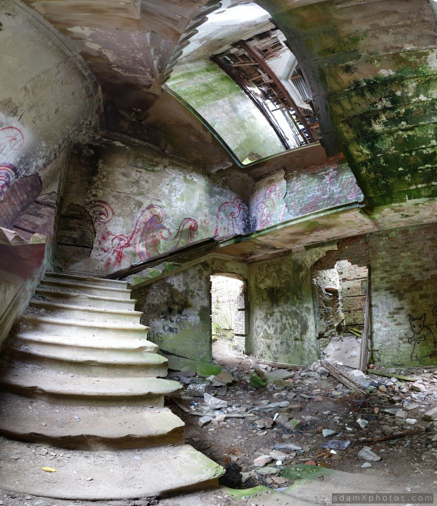 Abandoned Baron Hill In Beaumaris, Anglesey, Wales