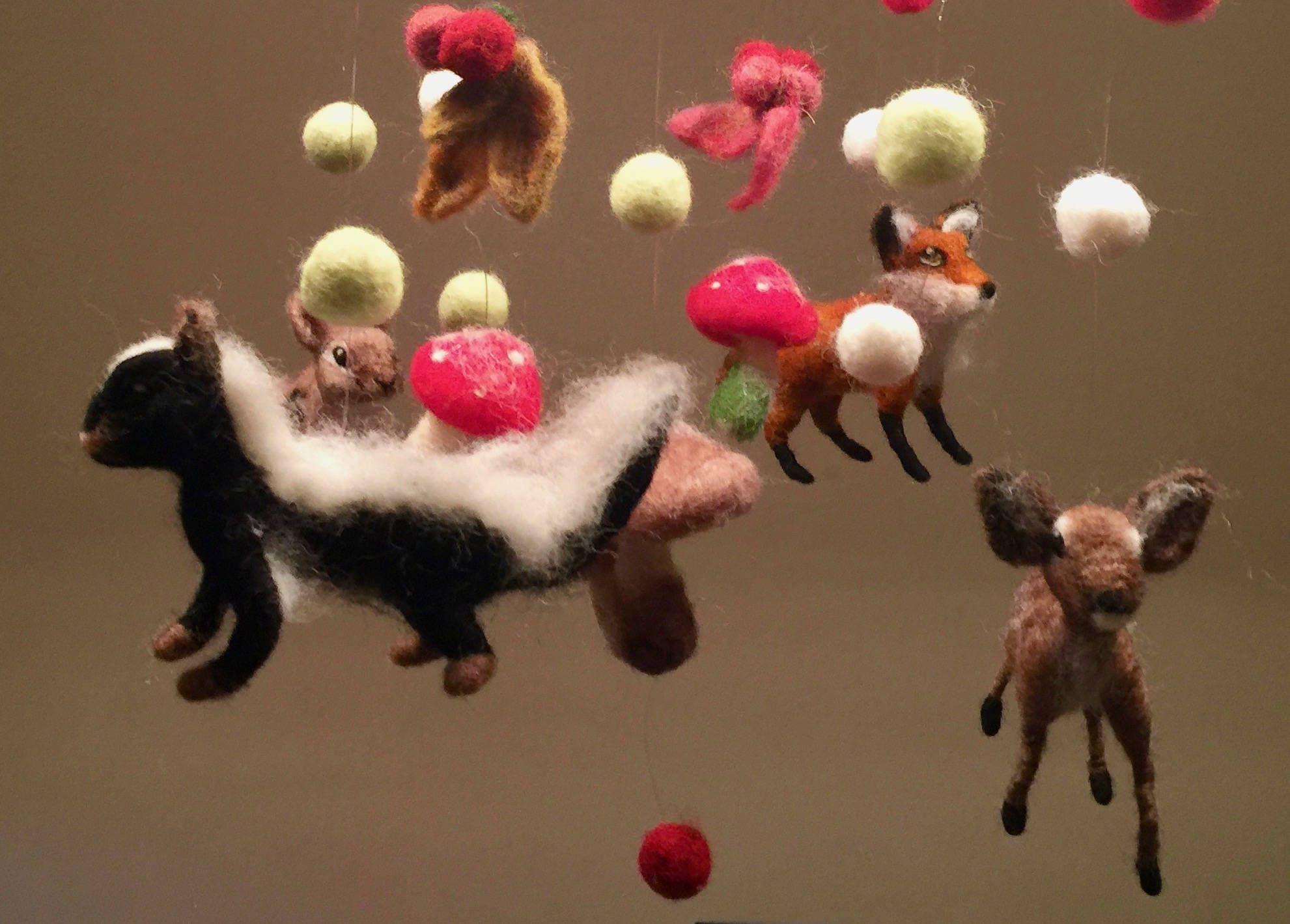 Magica Mobili ~ Móvil bosque encantado móvil decoración decoración infantil