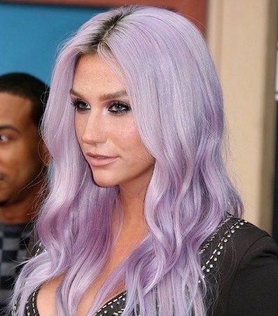 lavender-hair-color-on-long-hair1.jpg (397×450 ...