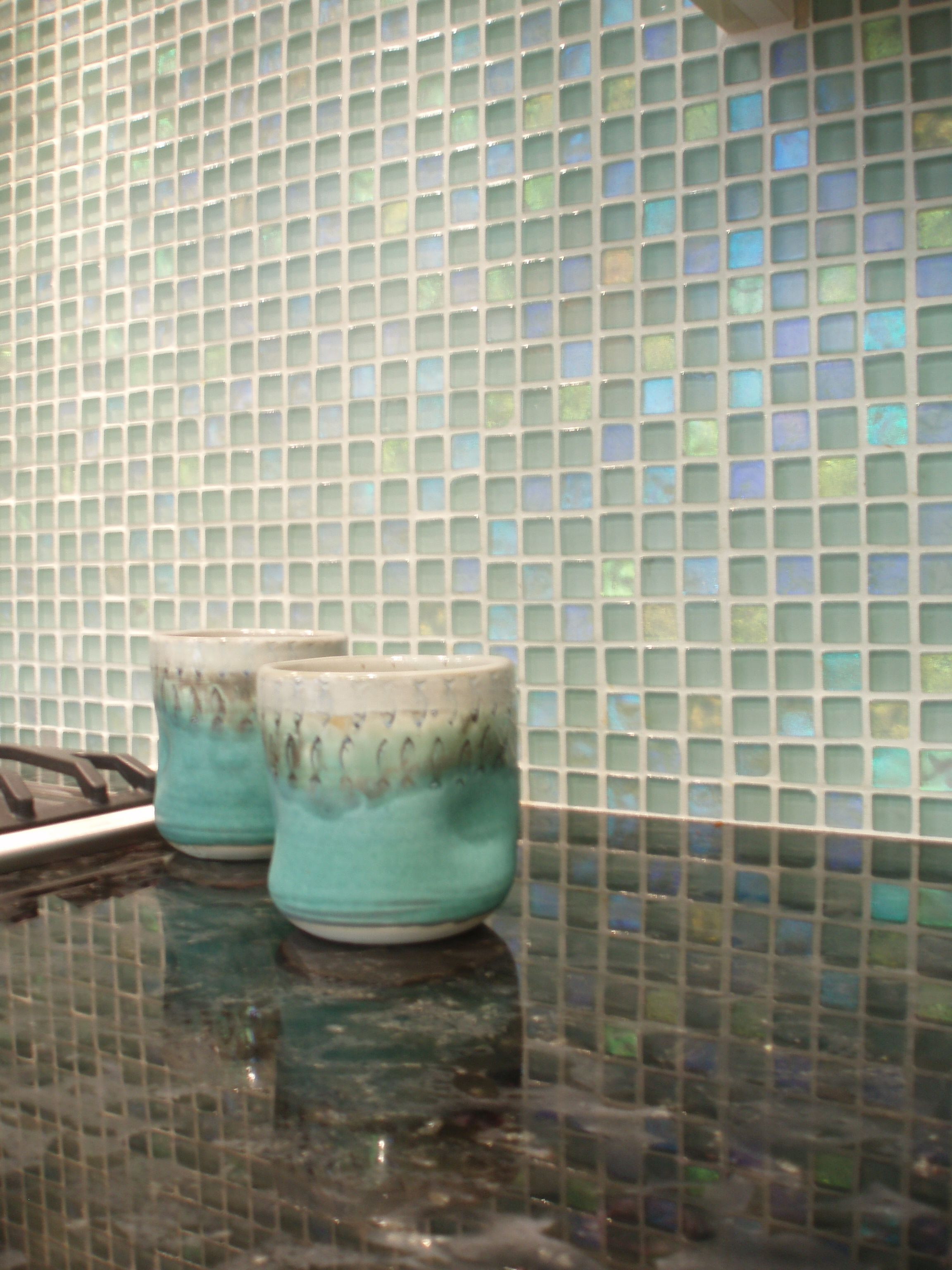 Unique Sensibilities Glass Backsplash Backsplash Glass Tile