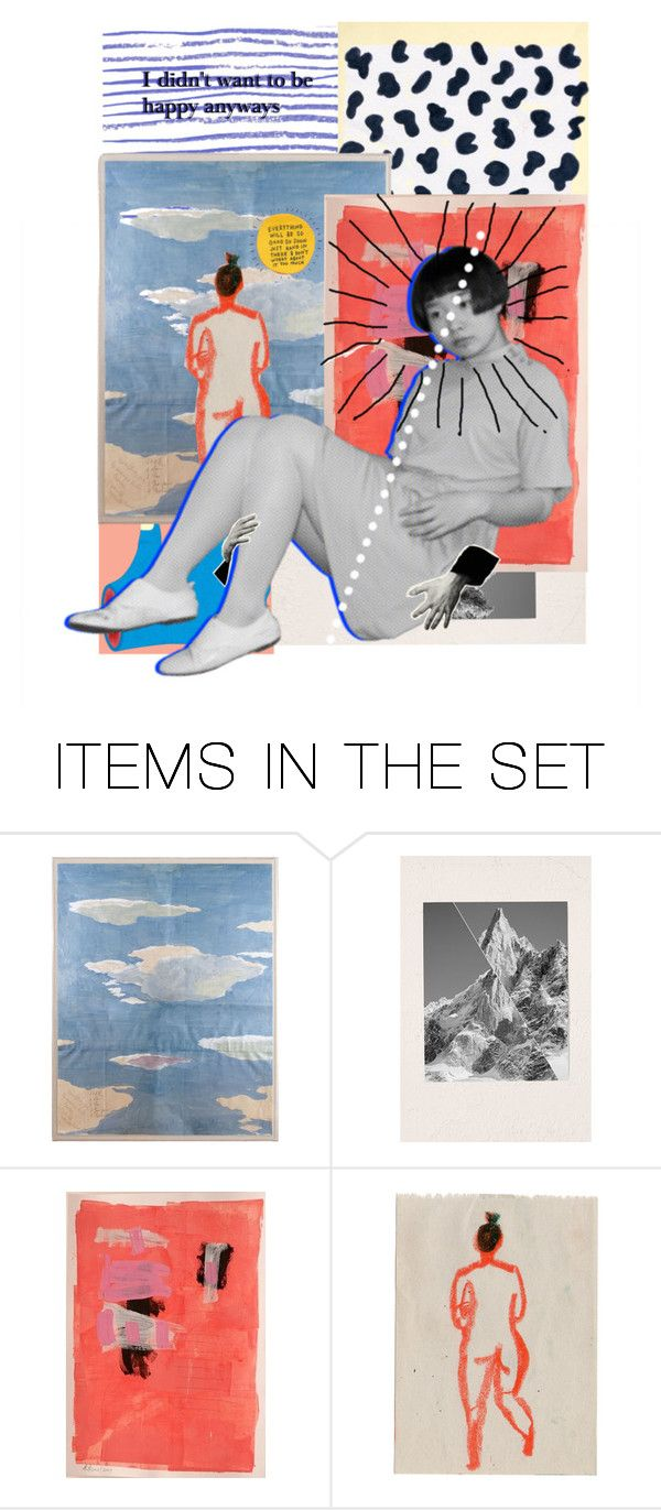 """i didn't want to be happy anyways"" by rosalataieck ❤ liked on Polyvore featuring art and country"