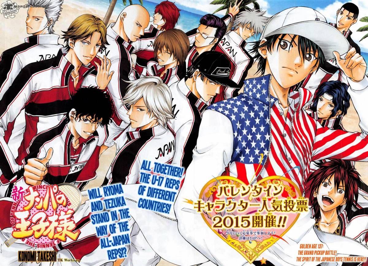 New Prince of Tennis 137 Page 4 Anime prince, Tennis