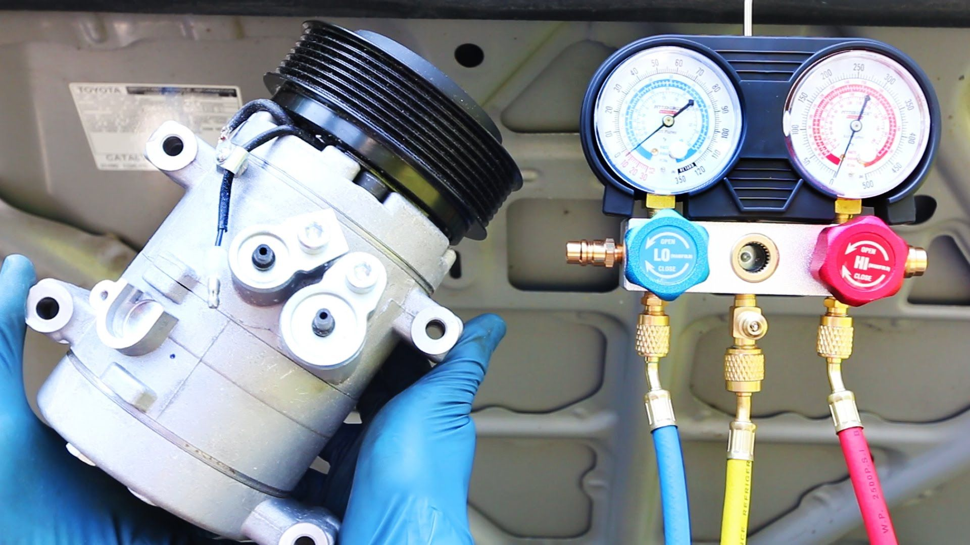 How to Replace an AC Compressor in your Car Mobile