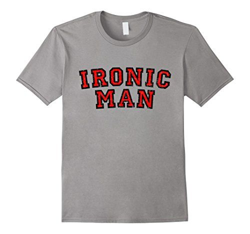 There are lots of superheroes out there but there's only one IRONIC MAN - Funny and satire t-shirts for the subtle irony of a more intellectual kind of sports. If you are interested in iron, ironic, ironically, irony, sport, sports, humor, fun, triathlon, marathon quotes, hero, heroes or superhero quotations, you might like these shirts.