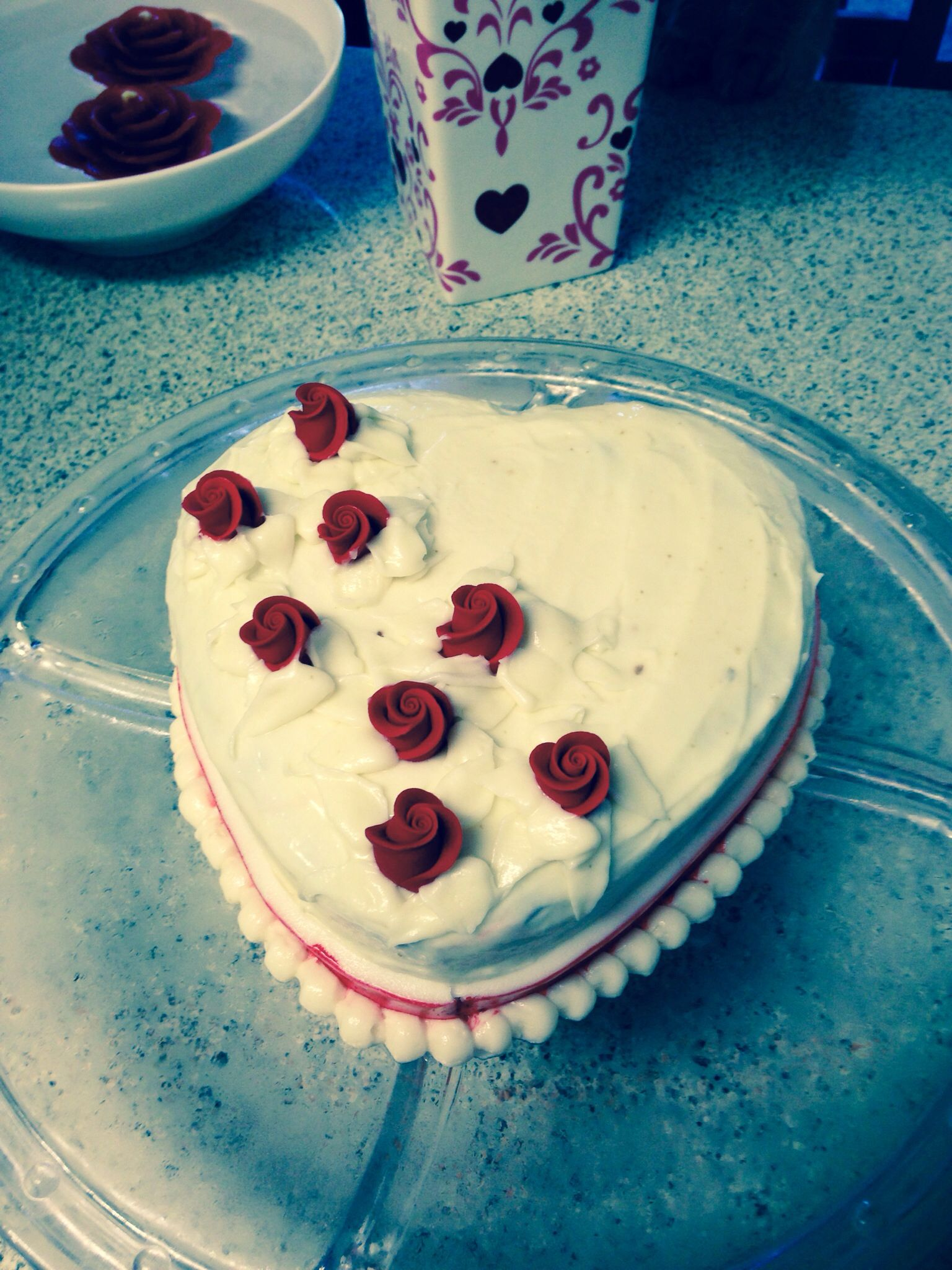 Valentines cake I made